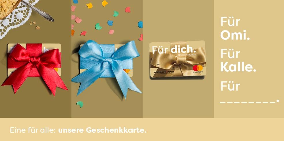 Kennen Sie schon unsere Geschenkkarte?