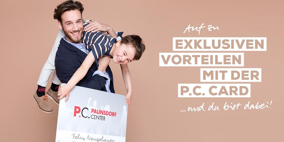 Neu und exklusiv: Die P.C. Card
