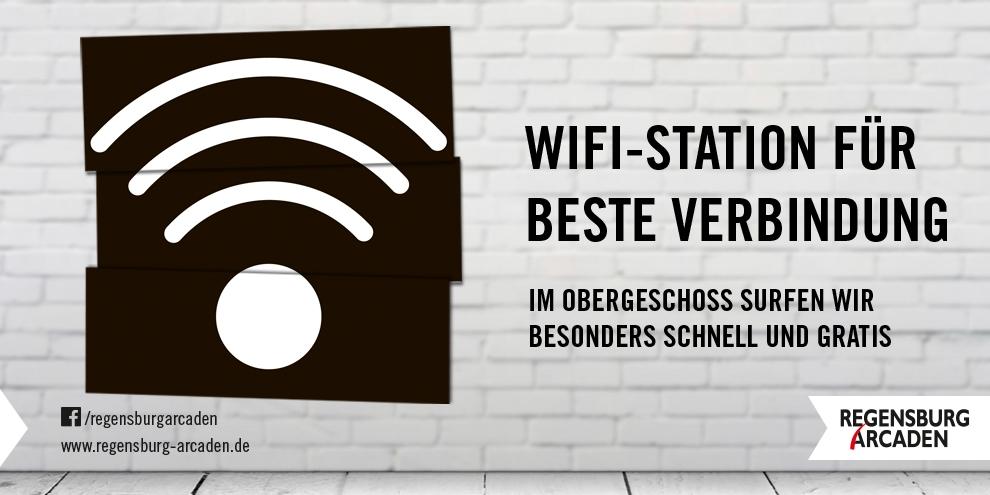 WiFi-Station für beste Verbindung