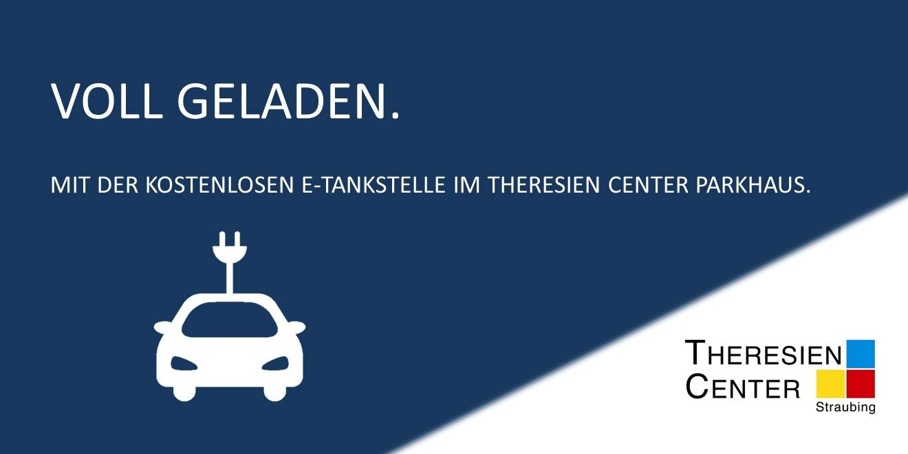 E-Tankstelle im Theresien Center