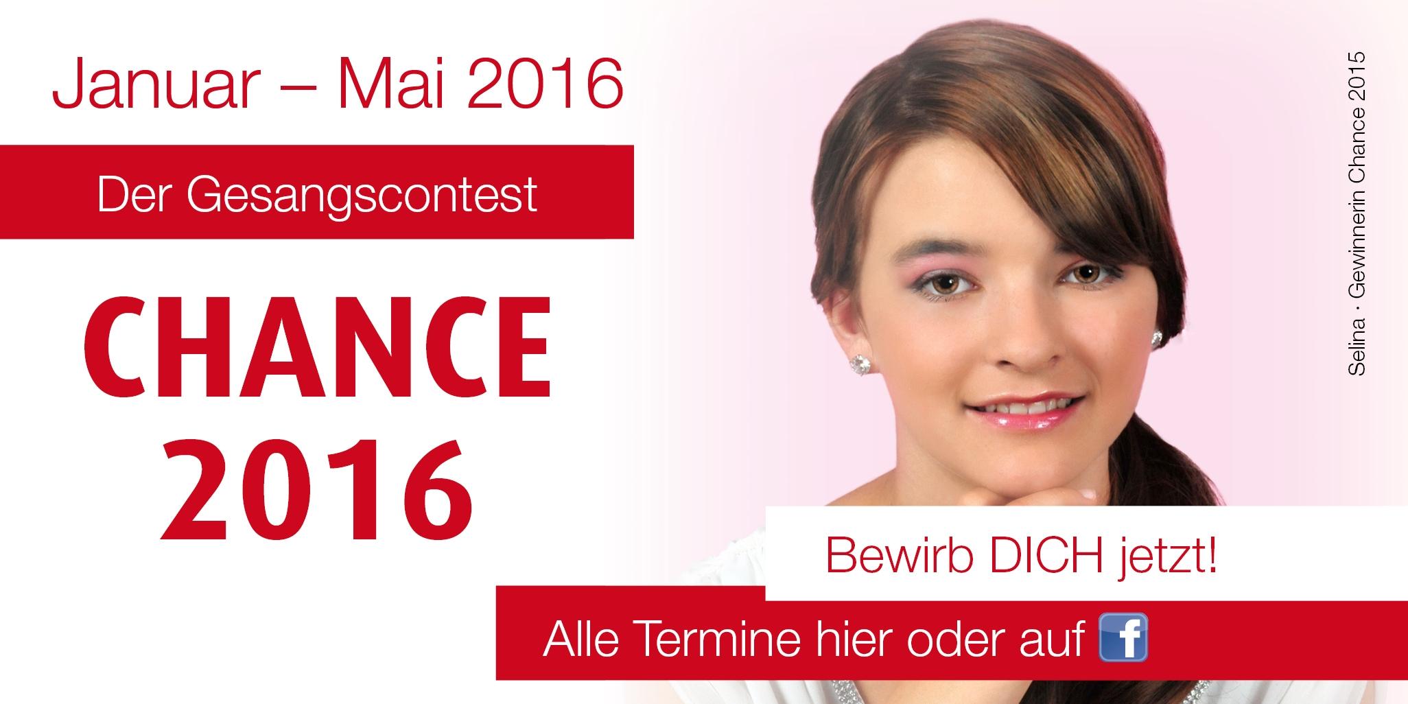 """""""Die Chance"""" zum Erfolg 2016"""