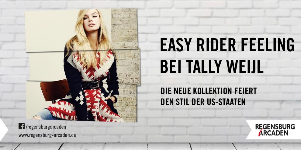 Easy Rider Feeling bei Tally Weijl