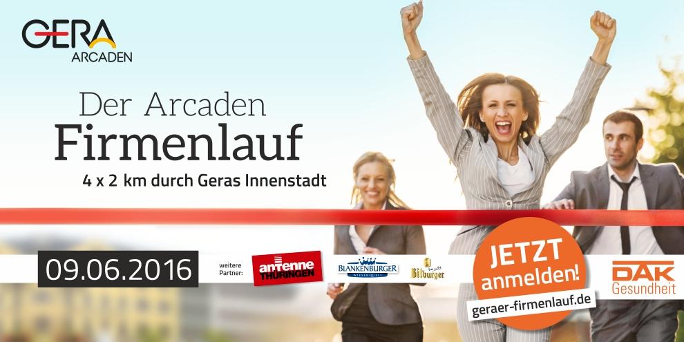 Der große Firmenlauf in Gera