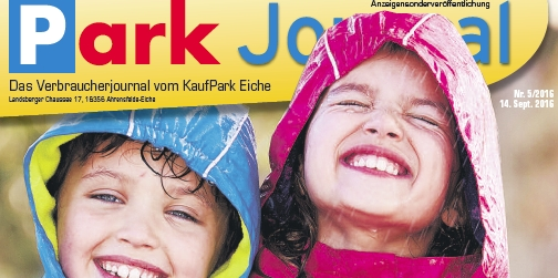 Neues Park Journal online