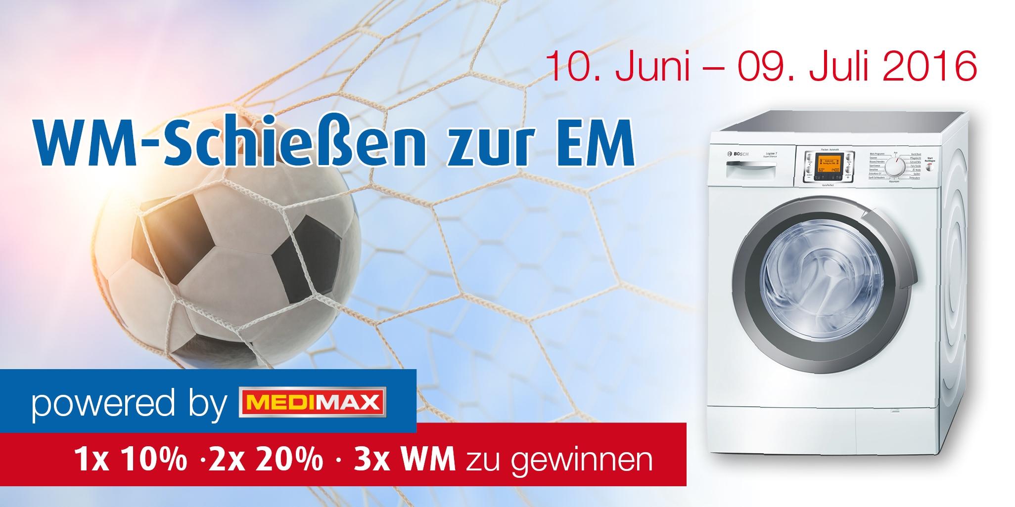 MediMax (Logo) präsentiert zur EM die neusten TV-Entwicklungen