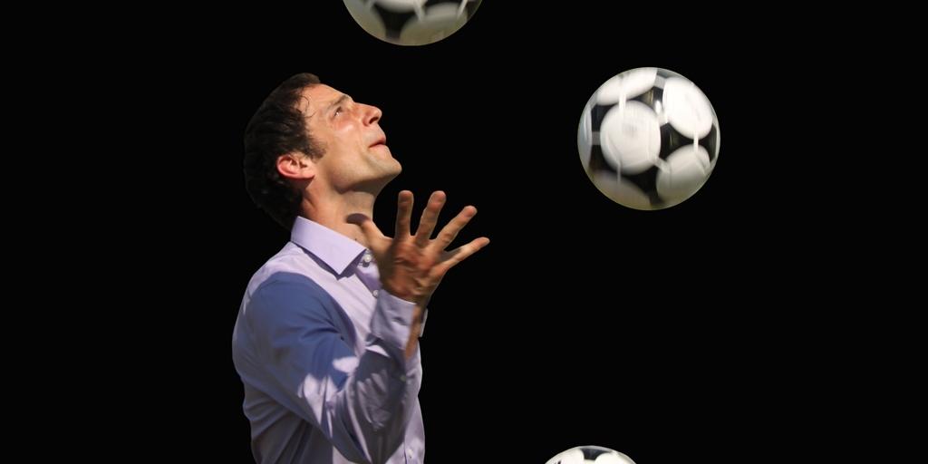"""Fußballjongleur Tobias Grün – """"Fußballzauberer"""" mit ganz eigener Interpretation"""
