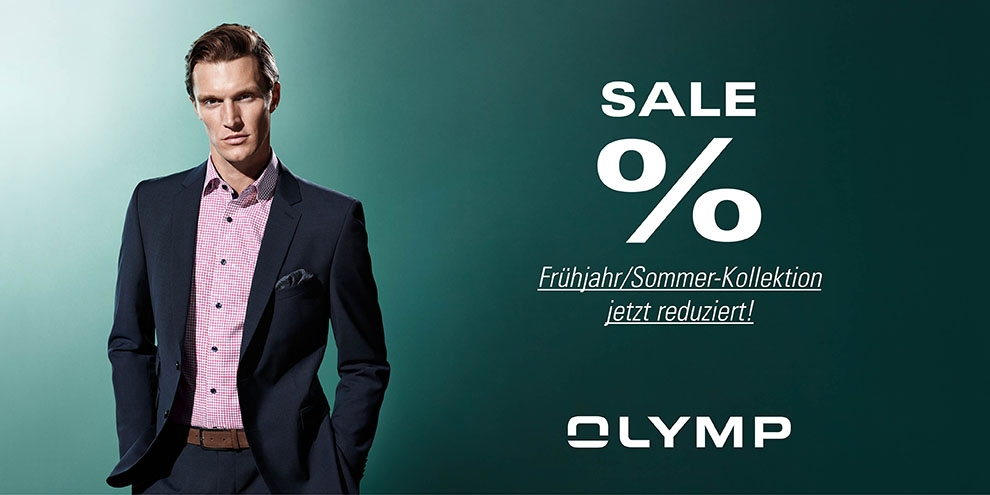 SALE im OLYMP Store