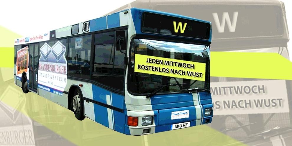 Kostenlos mit dem Bus nach Wust