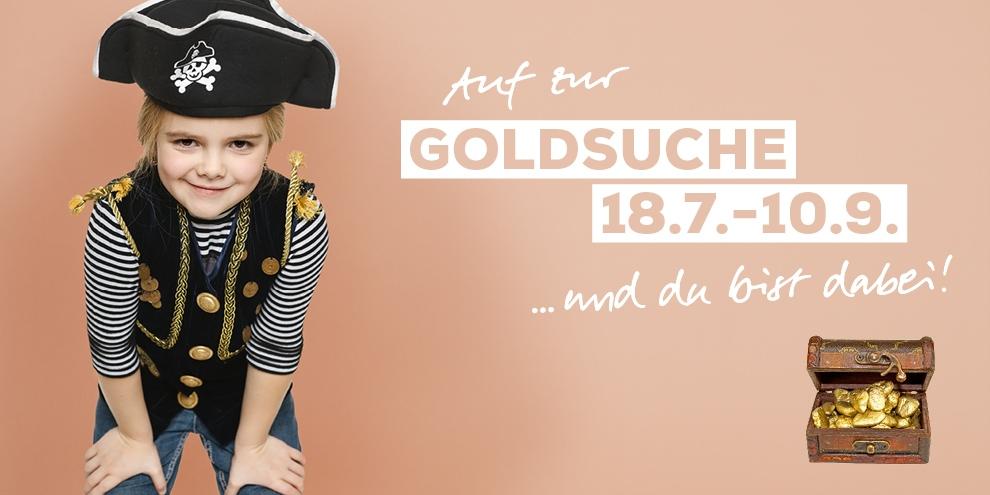 Goldsuche für kleine Piraten
