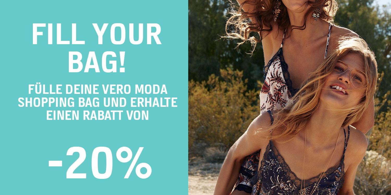 20 % Rabatt bei VERO MODA