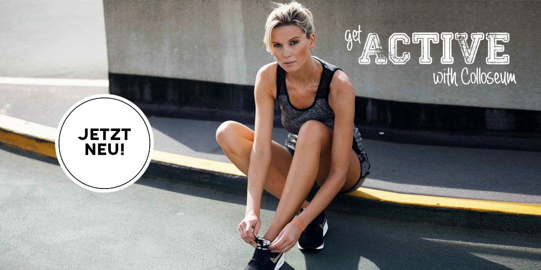 ENTDECKEN SIE DIE ACTIVE WEAR COLLECTION