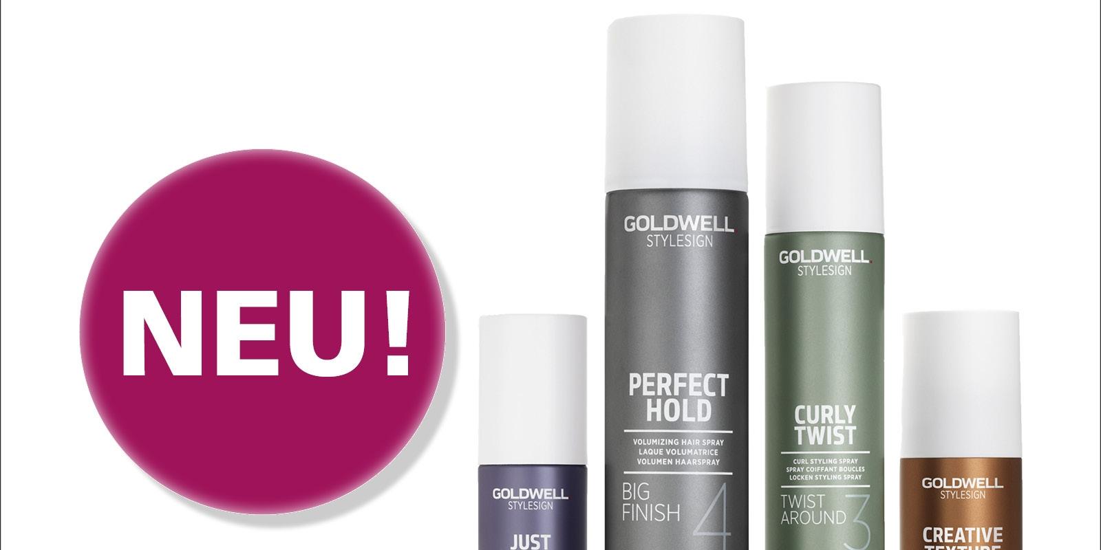 Die Goldwell StyleSign Styling-Serie!
