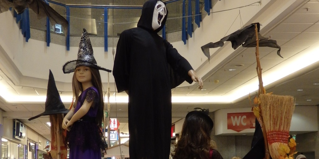 Halloween-Party in Aussicht und kein Kostüm?