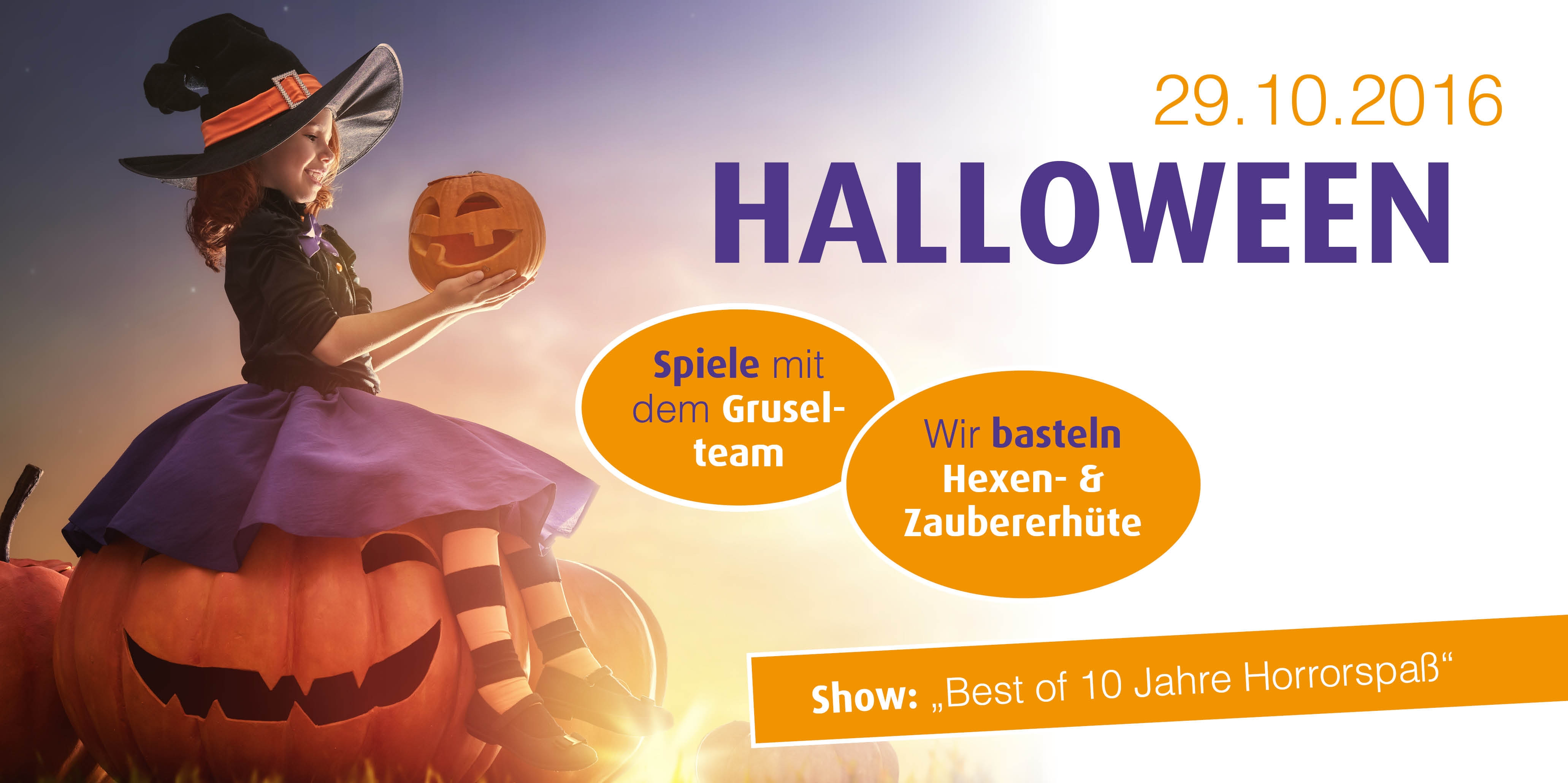 Halloweenparty in Wust