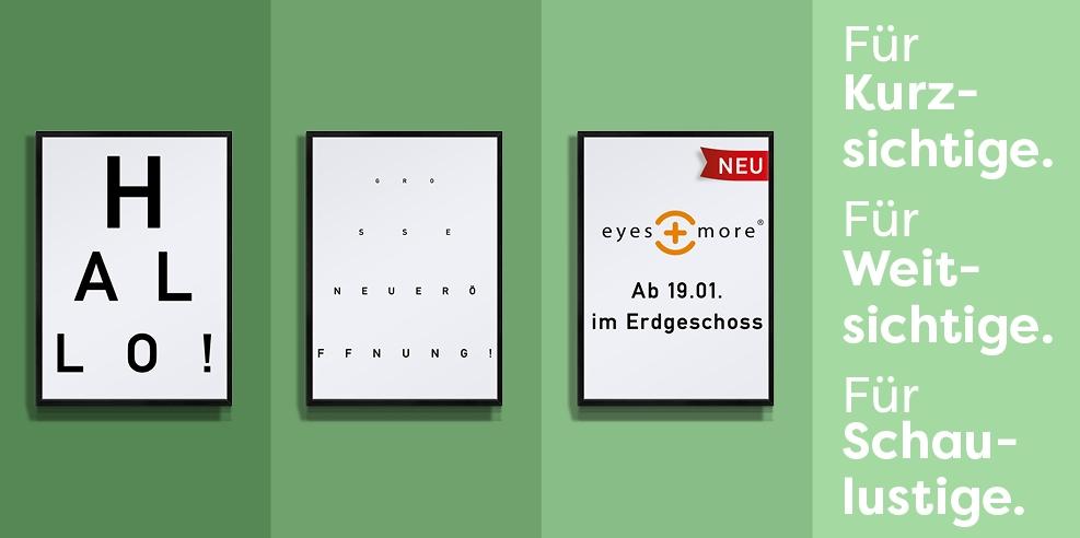 Neueröffnung: eyes + more