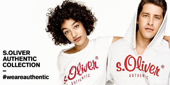 s.Oliver AUTHENTIC: Back to the Roots!