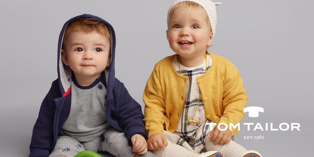 Neue Kindermode von Tom Tailor