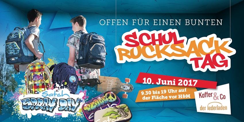Schulrucksacktag im KaufPark Dresden