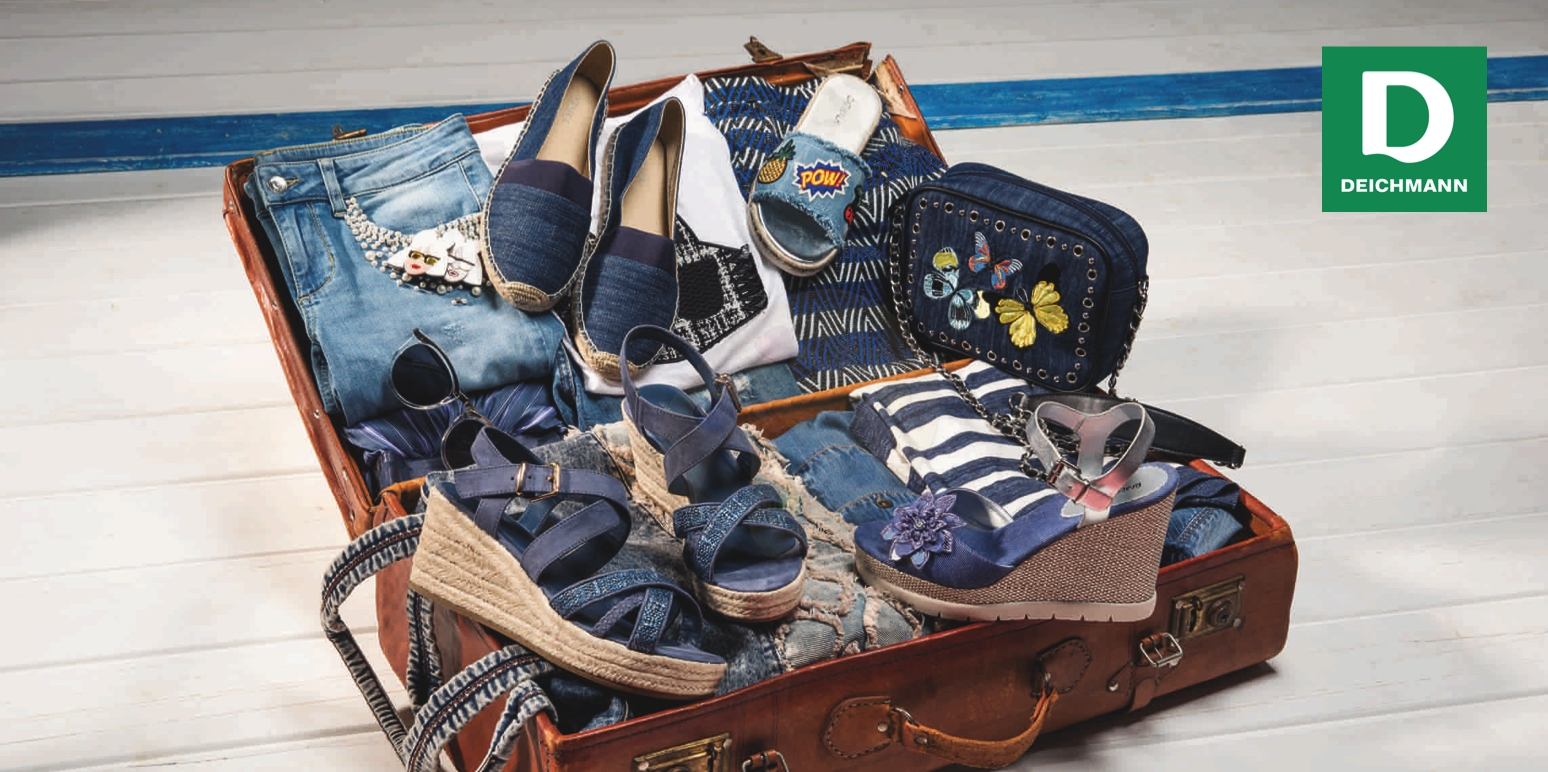 Sie packen Ihren Koffer und nehmen mit...