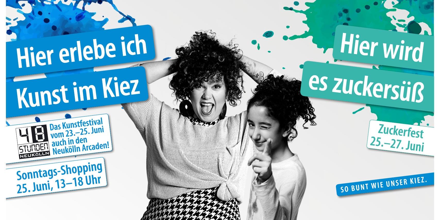 48 Stunden Neukölln - Das Kunst- und Kulturfestival in den Neukölln Arcaden