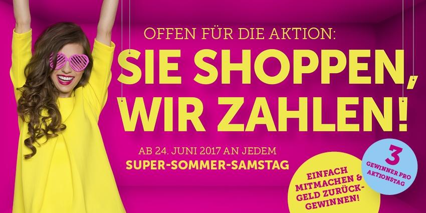 Super-Sommer-Samstag am 24.06.17 im KaufPark Dresden