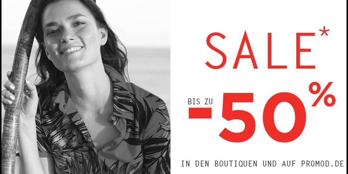 Sommer-Sale bei Promod
