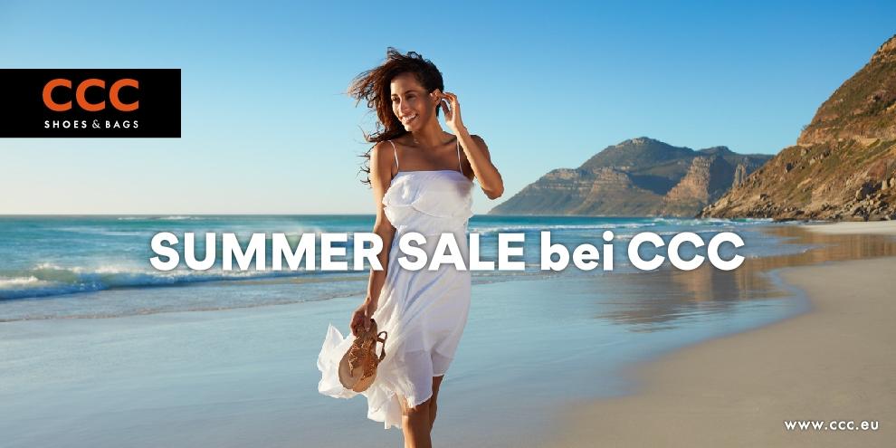 Sonniges Sparen beim CCC Summer Sale