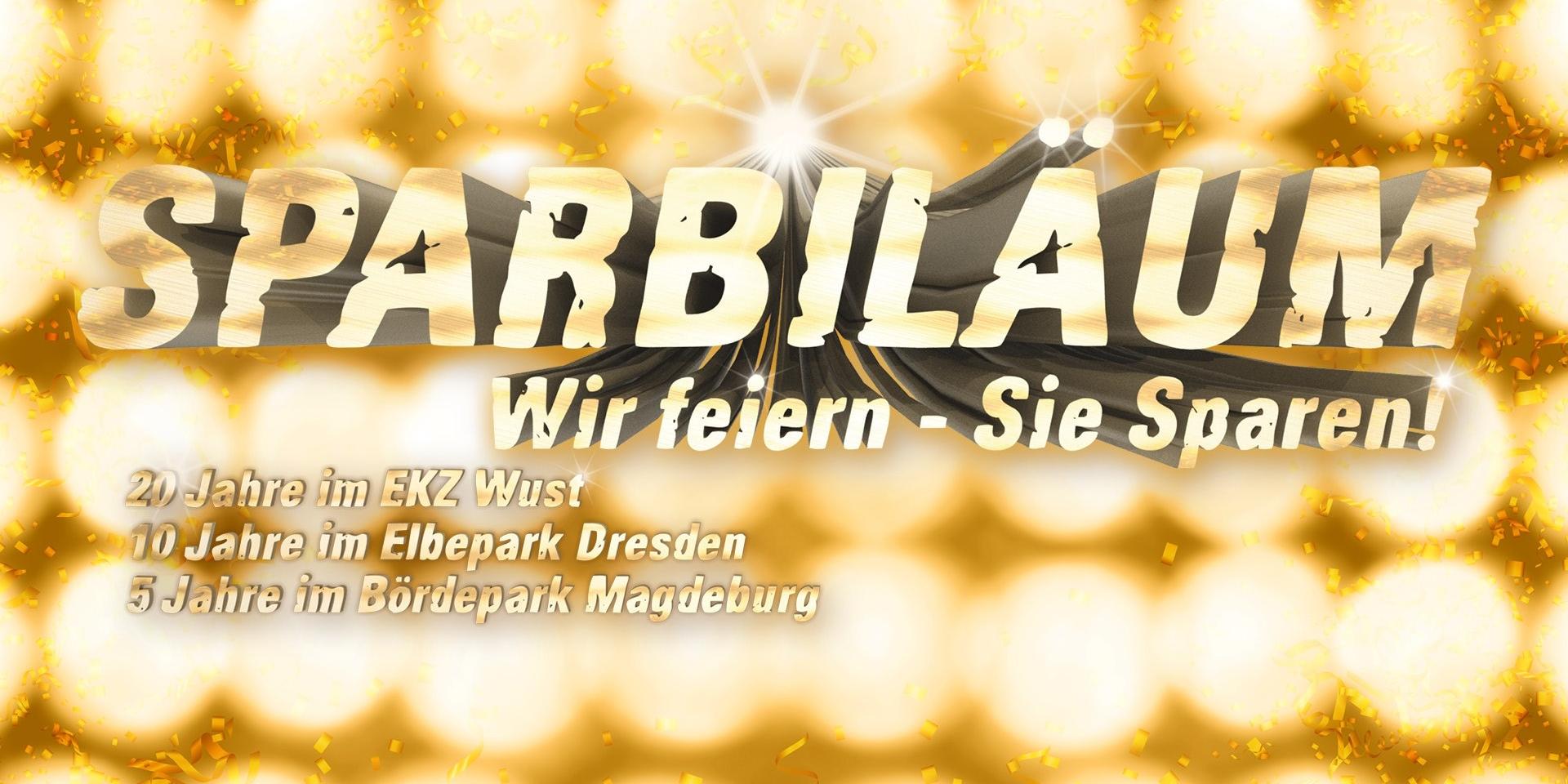 SPARBILÄUM bei INTERSPORT Hübner