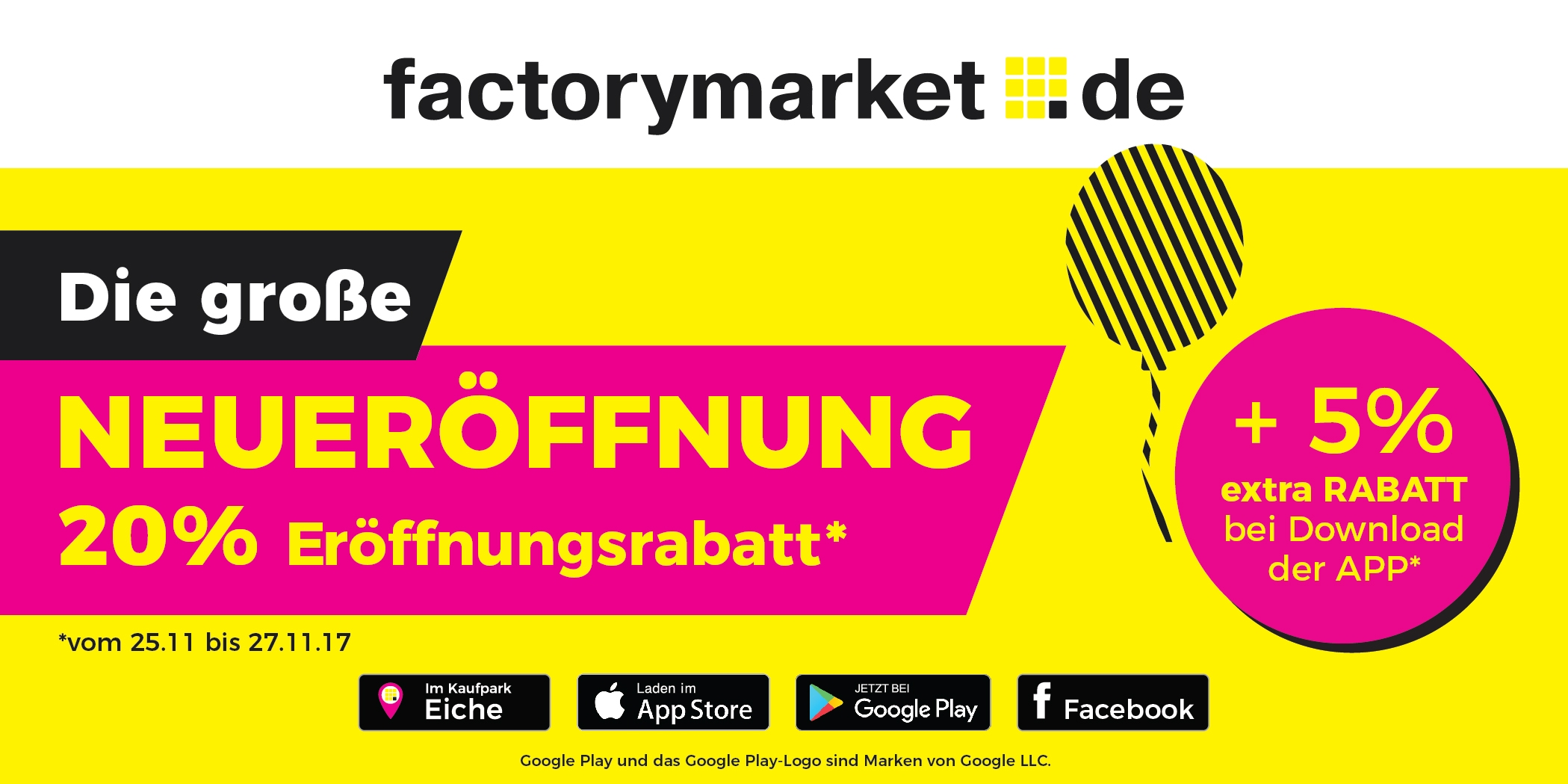 Neueröffnung factorymarket