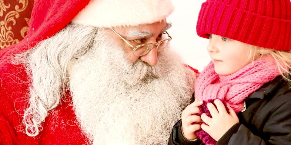 Am 1. und 3. Adventssonntag ist der Weihnachtsmann im HavelPark
