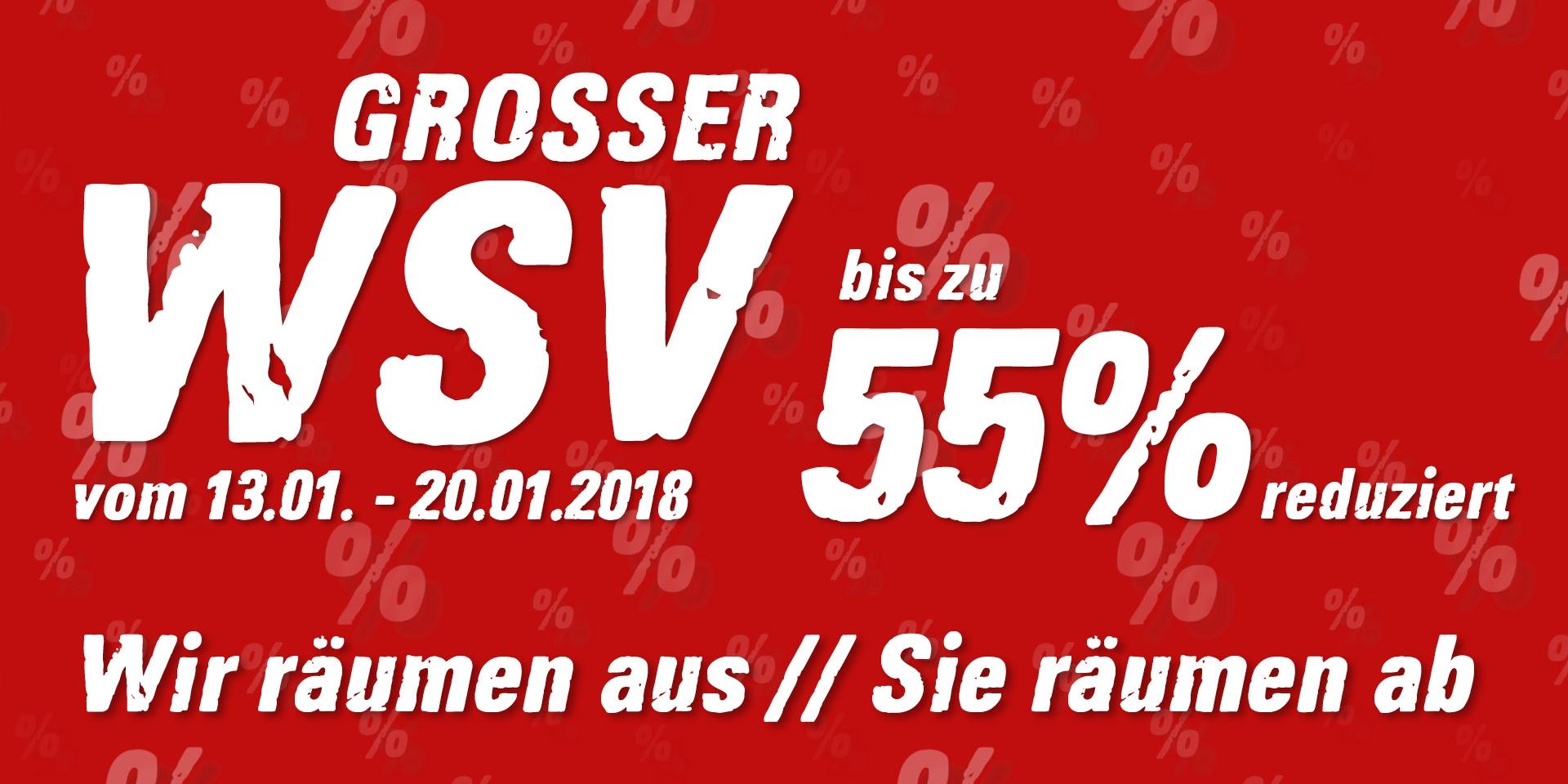 Winterschlussverkauf bei Intersport Hübner